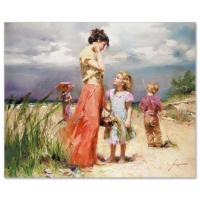 "Pino Signed ""Remember When"" Artist Embellished Limited Edition 30x36 Giclee on Canvas at PristineAuction.com"