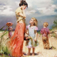 """Pino Signed """"Remember When"""" Artist Embellished Limited Edition 30x36 Giclee on Canvas at PristineAuction.com"""