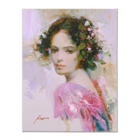 "Pino Signed ""Lily"" Artist Embellished Limited Edition 20x26 Giclee on Canvas at PristineAuction.com"