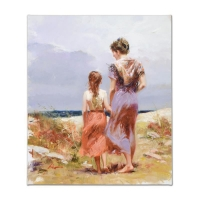 "Pino Signed ""Summer Afternoon"" Artist Embellished Limited Edition 22x26 on Canvas at PristineAuction.com"
