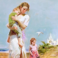 """Pino Signed """"Heavenly Breeze"""" Artist Embellished Limited Edition 30x40 Giclee on Canvas at PristineAuction.com"""