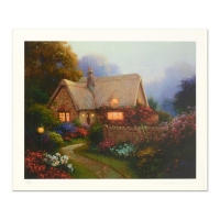 """Sergon Signed """"Bougainvillea Cottage"""" Limited Edition 16x20 Giclee on Paper at PristineAuction.com"""