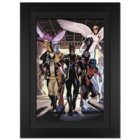 """Stan Lee Signed """"X-Men Annual Legacy #1"""" Extremely Limited Edition 29x40 Custom Framed Giclee on Canvas by Daniel Acuna and Marvel Comics #/4"""