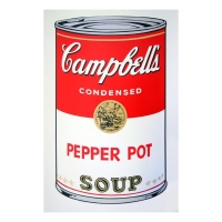 "Andy Warhol ""Soup Can 11.51 (Pepper Pot)"" 23x23 Silk Screen Print from Sunday B Morning at PristineAuction.com"