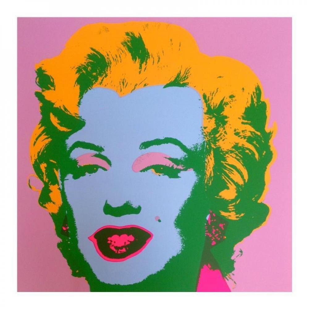 COA Sunday B Morning Marilyn Monroe 11.28 Screen print ANDY WARHOL Pop Art