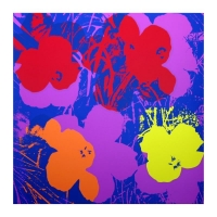 """Andy Warhol """"Flowers 11.66"""" 36x36 Silk Screen Print from Sunday B Morning at PristineAuction.com"""