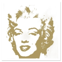 "Andy Warhol ""Golden Marilyn 11.41"" Limited Edition 36x36 Silk Screen Print from Sunday B Morning at PristineAuction.com"