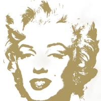 """Andy Warhol """"Golden Marilyn 11.41"""" Limited Edition 36x36 Silk Screen Print from Sunday B Morning at PristineAuction.com"""