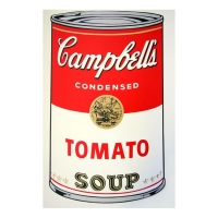 "Andy Warhol ""Soup Can 11.46 (Tomato Soup)"" 23x23 Silk Screen Print from Sunday B Morning at PristineAuction.com"