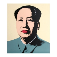 "Andy Warhol ""Mao Portfolio"" 29x33 Suite of (5) Silk Screen Prints from Sunday B Morning at PristineAuction.com"