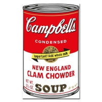 """Andy Warhol """"Soup Can Series 2"""" Limited Edition 23x35 Suite of (10) Silk Screen Prints from Sunday B Morning at PristineAuction.com"""