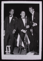 """The Hulton Archive - Sammy Davis Jr., Frank Sinatra & Dean Martin """"Rat Packin at the Sands"""" 16x23 Limited Edition Fine Art Giclee on Paper #127/275 (PA LOA)"""