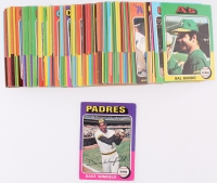 Lot of (102) 1975 Topps Mini Baseball Cards with #61 Dave Winfield
