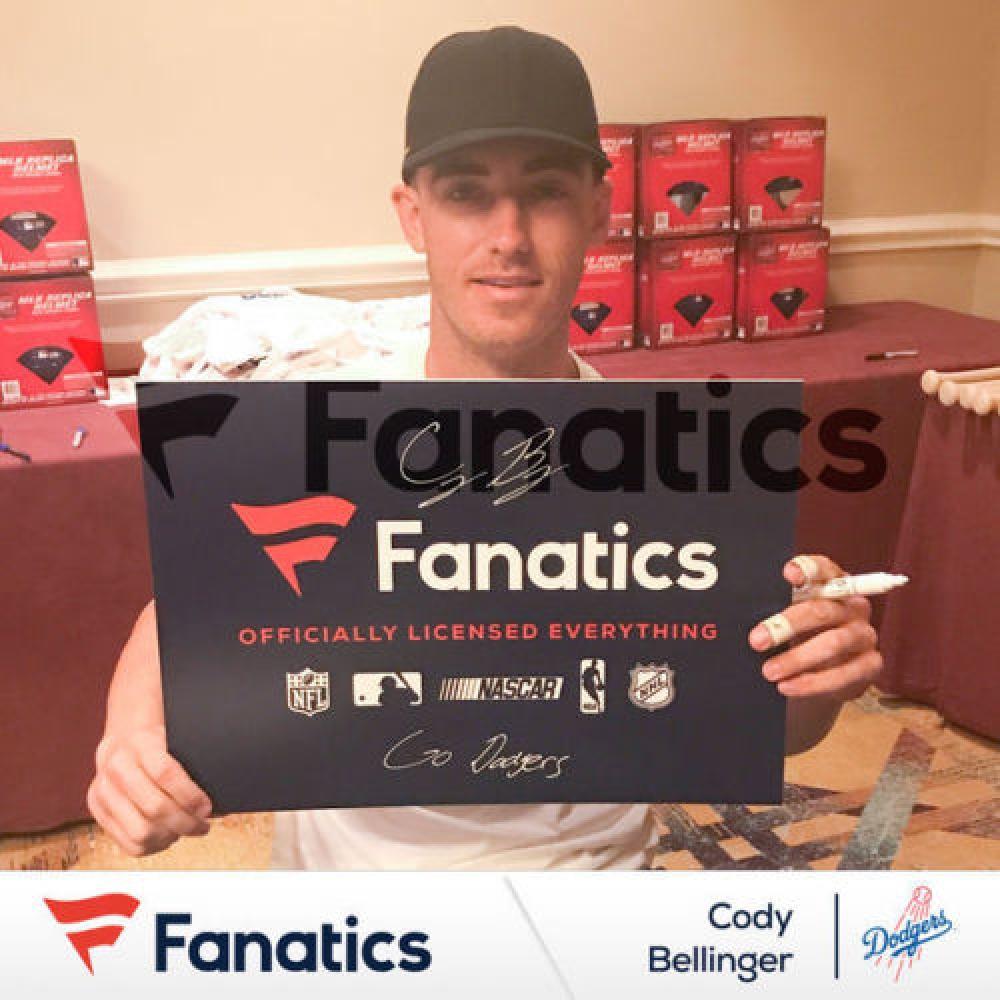 Cody Bellinger Signed Dodgers New Era Snapback Hat (Fanatics Hologram   MLB  Hologram) at 514ea4786099