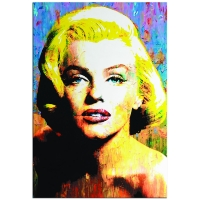 """""""Marilyn Monroe Right to Twinkle"""" 22x32 Contemporary Hollywood Pop Art, Ltd. Ed. Giclee on Glossy Acrylic by Mark Lewis at PristineAuction.com"""