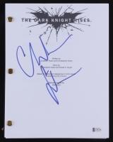 "Christian Bale Signed ""The Dark Knight Rises"" Full Script (Beckett COA)"