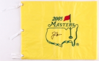 Jack Nicklaus Signed 2005 Masters Pin Flag (JSA ALOA)