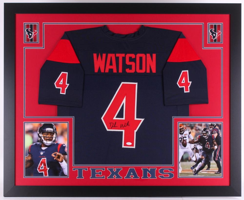 deshaun watson jersey signed
