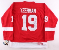 Steve Yzerman Signed Red Wings Jersey (JSA LOA)