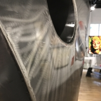 """Salutation"" 42x87x24 Huge Original Sculpture by Nate Brimhall at PristineAuction.com"