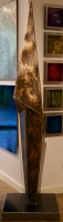 """""""Alignment"""" 24x93x24 Original Sculpture by Nate Brimhall at PristineAuction.com"""