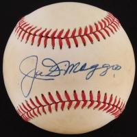 Joe DiMaggio Signed ONL Baseball (JSA LOA) at PristineAuction.com