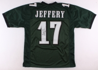 Alshon Jeffery Signed Eagles Jersey (JSA COA)