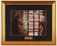 "1978 Obi Wan & Darth Vader ""Star Wars"" 15.5x19.5 Custom Framed Print Display"