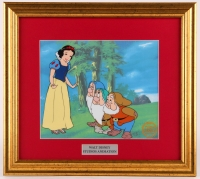 "Walt Disney ""Snow White and the Seven Dwarves"" LE 16.5x18.5 Custom Framed Animation Serigraph Cel"