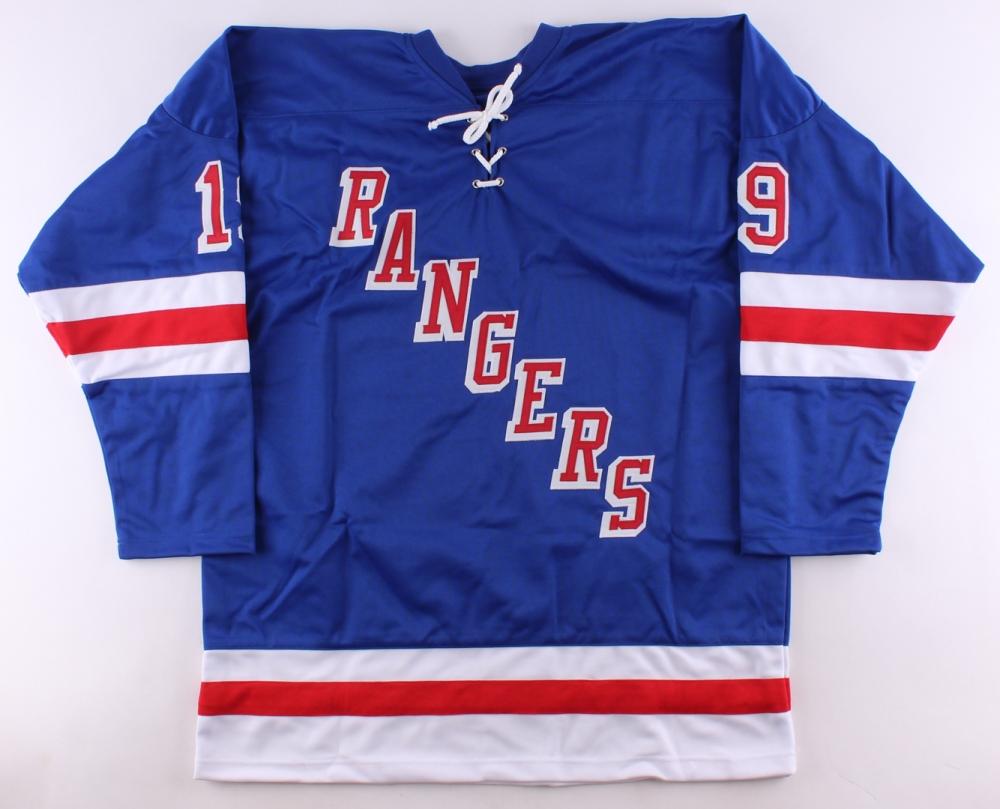 Jesper Fast Signed Rangers Jersey (Steiner COA   FCA COA) at  PristineAuction.com 82e32f16b
