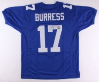 """Plaxico Burress Signed Giants Jersey Inscribed """"SB XVII Champs"""" (JSA COA) at PristineAuction.com"""