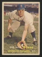 1957 Topps #30 Pee Wee Reese