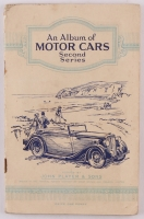 """1937 Player's """"Motor Cars"""" Complete Set of (50) Cigarette Cards with Original Album Booklet"""
