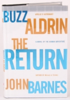 "Buzz Aldrin Signed ""The Return"" Hardcover Book (JSA COA)"
