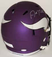 Adam Thielen Signed Vikings Full-Size Speed Helmet (TSE COA) at PristineAuction.com