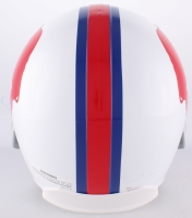 "O.J. Simpson Signed Bills Throwback Full-Size Helmet Inscribed ""The Juice"" & ""HOF 85"" (JSA COA) at PristineAuction.com"