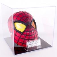 Stan Lee Signed Marvel Spider-Man Mask with Display Case (PSA COA)