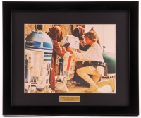 "Luke Skywalker ""Star Wars"" 15x18 Custom Framed Print Display"