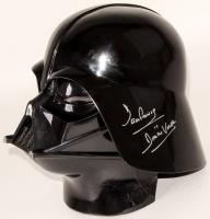 """Dave Prowse Signed """"Star Wars"""" Mask Inscribed """"Darth Vader"""" (JSA COA)"""