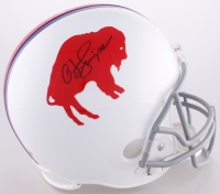 O.J. Simpson Signed LE Bills Throwback Full-Size Helmet (JSA COA & Simpson Hologram)
