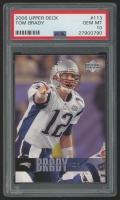 2006 Upper Deck #113 Tom Brady (PSA 10)