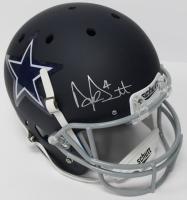 Dak Prescott Signed Cowboys Full-Size Matte Blue Helmet (JSA COA & Prescott Hologram)