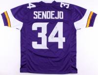 Andrew Sendejo Signed Jersey (TSE Hologram) at PristineAuction.com