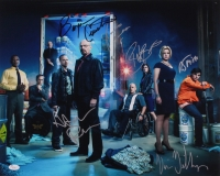 """""""Breaking Bad"""" 16x20 Photo Signed By (6) With Bryan Cranston, Aaron Paul, RJ Mitte, Betsy Brandt (JSA LOA)"""