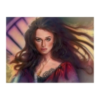 """John Alvin Signed """"Elizabeth Swan"""" Limited Edition 15x20 Giclee on Canvas Licensed by Disney Fine Art #28/195 at PristineAuction.com"""