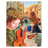 """Edgar Barrios Signed """"Idilius"""" 36x48 Original Oil Painting on Canvas"""