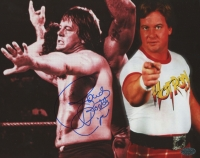 Roddy Piper Signed WWE 8x10 Photo (LEAF COA)