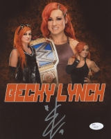 Becky Lynch Signed WWE 8x10 Photo (JSA COA)