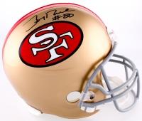 Jerry Rice Signed 49ers Full-Size Helmet (Beckett COA)