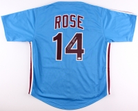 Pete Rose Signed Phillies Jersey (JSA COA)
